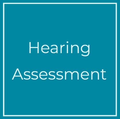 Hearing assessment tile