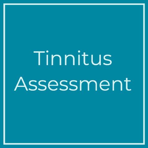 Tinnitus assessment tile