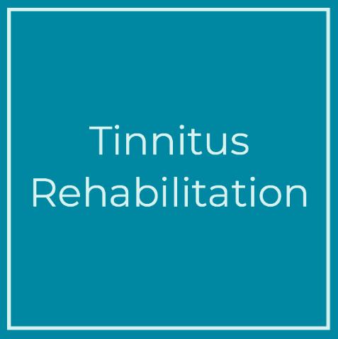 Tinnitus rehabilitation tile