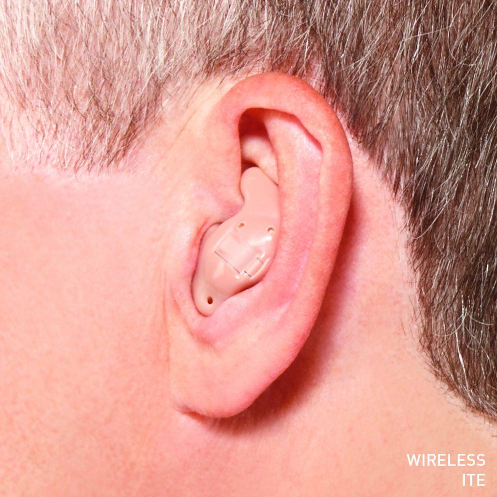 ITE in ear