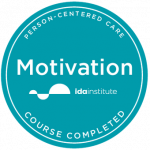 IDA motivation badge logo