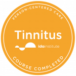IDA tinnitus badge
