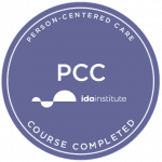 IDA person centered care badge